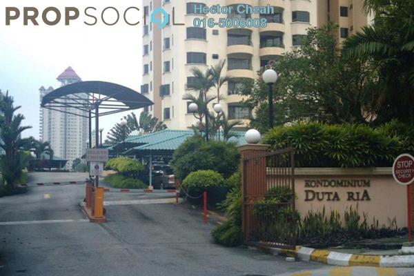 For Rent Condominium at Duta Ria, Dutamas Freehold Fully Furnished 3R/2B 2.3k