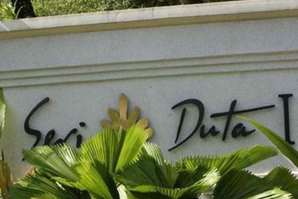 For Sale Condominium at Seri Duta I, Kenny Hills Freehold Fully Furnished 3R/2B 1.65m