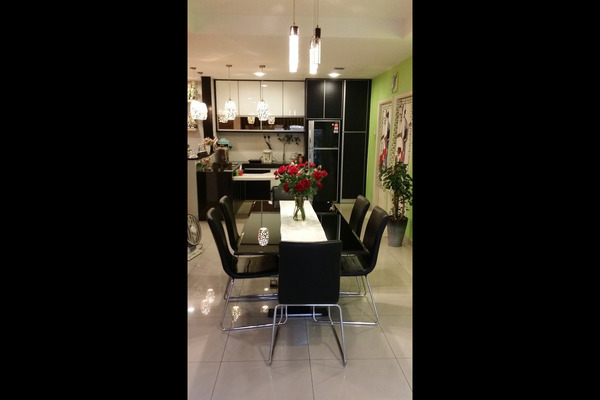 For Sale Terrace at Taman Bukit Maluri, Kepong Leasehold Semi Furnished 6R/5B 1.68m