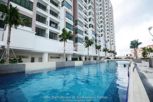 For Sale Condominium at One Damansara, Damansara Damai Leasehold Semi Furnished 3R/2B 395k