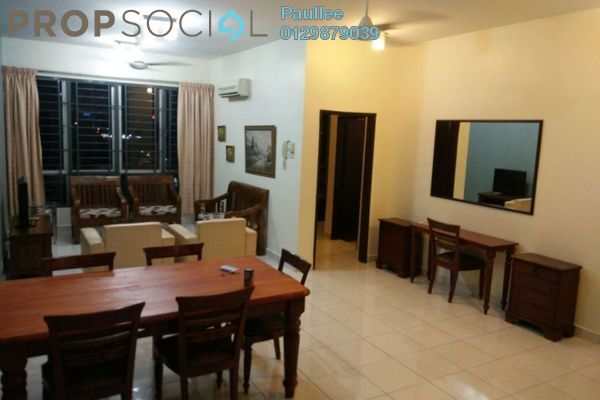 For Rent Condominium at Casa Tiara, Subang Jaya Freehold Fully Furnished 3R/2B 2.2k