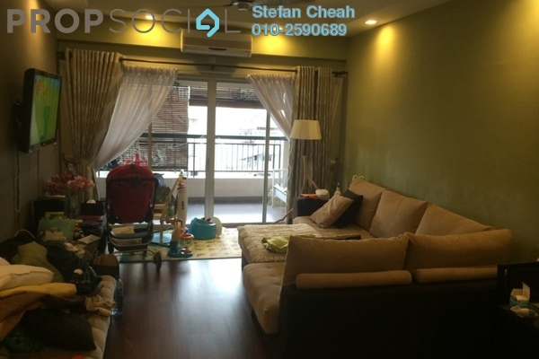 For Sale Condominium at Seri Maya, Setiawangsa Freehold Semi Furnished 3R/2B 790k