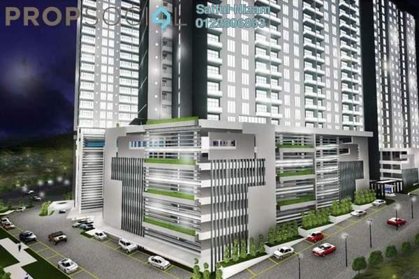 For Sale Condominium at Angkasa Residence, TTDI Freehold Semi Furnished 3R/2B 300k