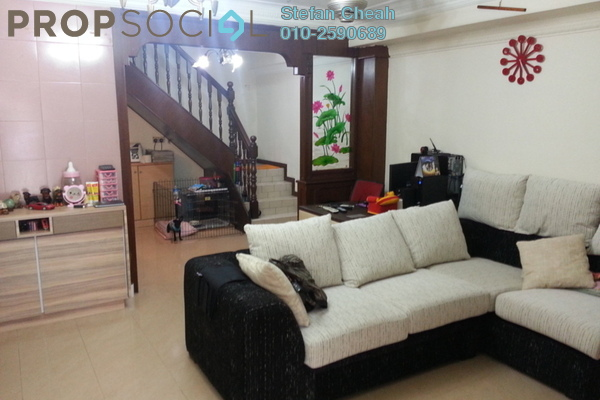For Sale Terrace at Taman Kosas, Ampang Leasehold Semi Furnished 3R/2B 450k
