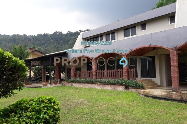 For Rent Bungalow at Taman Hillview, Ukay Freehold Semi Furnished 7R/6B 10k