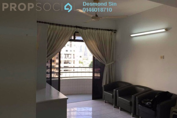 For Sale Apartment at Taman Jelutong, Jelutong Freehold Semi Furnished 3R/2B 410k