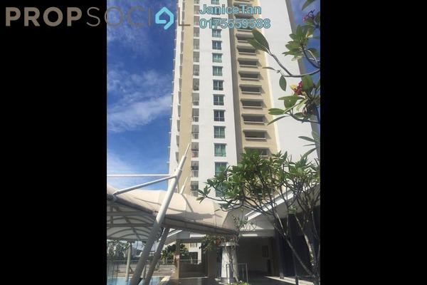 For Sale Condominium at Casa Indah 2, Tropicana Leasehold Semi Furnished 2R/2B 685k