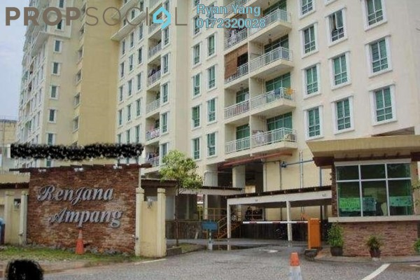 For Sale Condominium at Renjana Ampang, Ampang Freehold Semi Furnished 3R/2B 420k
