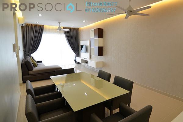 For Sale Condominium at Gembira Residen, Kuchai Lama Freehold Semi Furnished 3R/2B 688k