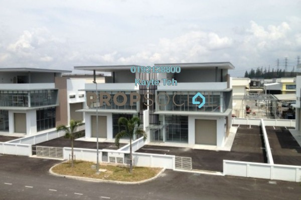 For Rent Factory at Taman Meranti Jaya Industrial Park, Puchong Freehold Unfurnished 0R/0B 10k