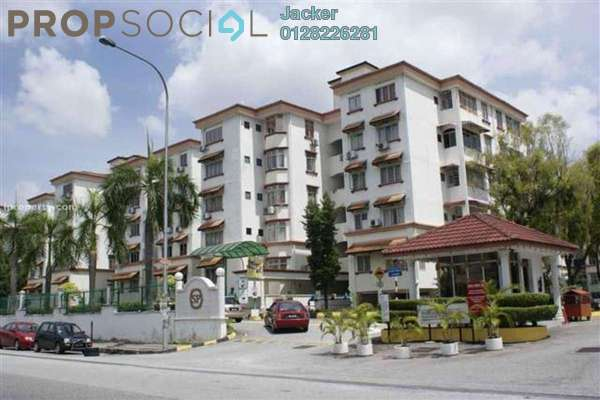 For Rent Condominium at Goodyear Court 10, UEP Subang Jaya Freehold Semi Furnished 3R/2B 1.15k