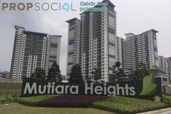For Rent Condominium at Ivory Residence, Kajang Freehold Semi Furnished 3R/2B 1k