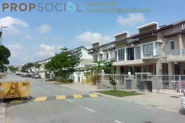 For Sale Terrace at D'Alpinia, Puchong Leasehold Unfurnished 4R/3B 730Ribu