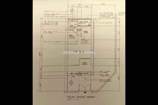 For Sale Terrace at Taman Muda, Pandan Indah Leasehold Semi Furnished 4R/3B 799k