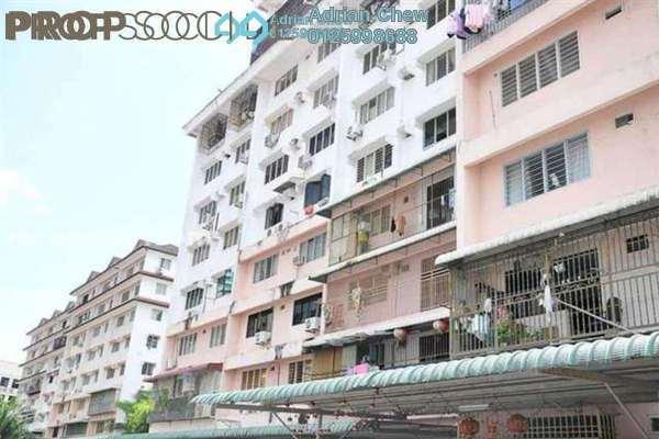 For Sale Apartment at Taman Seri Hijau, Jelutong Freehold Semi Furnished 3R/2B 398k