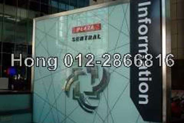 For Rent Office at Plaza Sentral, KL Sentral Freehold Semi Furnished 0R/0B 14.4k