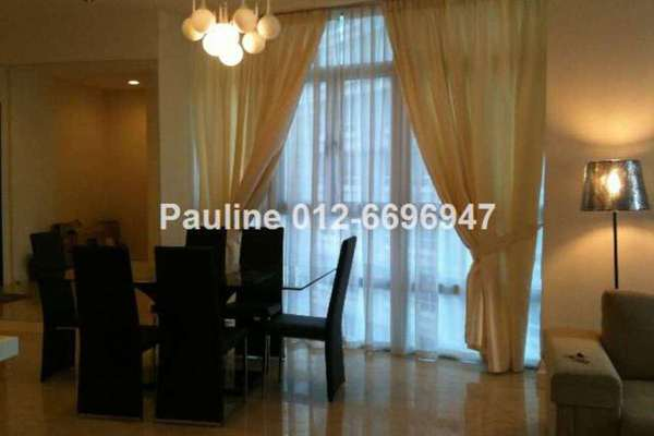 For Rent Condominium at Idaman Residence, KLCC Leasehold Fully Furnished 3R/3B 7.5k