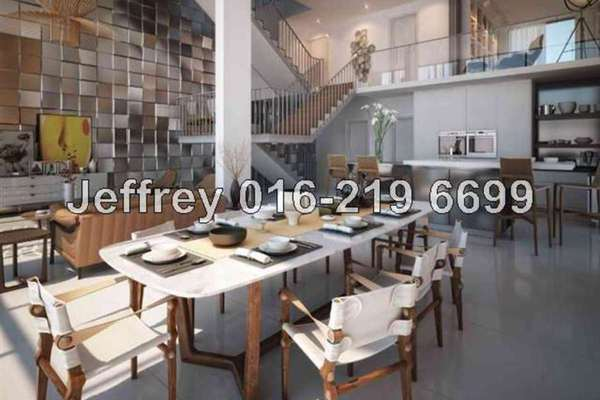 For Sale Superlink at The Mansions, Desa ParkCity Freehold Semi Furnished 6R/6B 4.8m