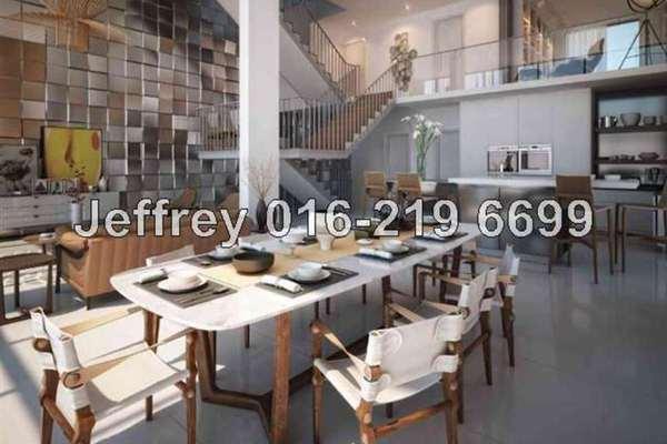 For Sale Superlink at The Mansions, Desa ParkCity Freehold Semi Furnished 6R/6B 4.8m
