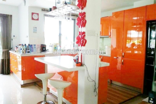 For Sale Terrace at Zenia, Desa ParkCity Freehold Semi Furnished 4R/5B 2.25m