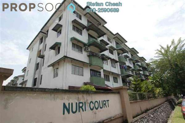 For Sale Condominium at Nuri Court, Pandan Indah Leasehold Semi Furnished 3R/2B 285k
