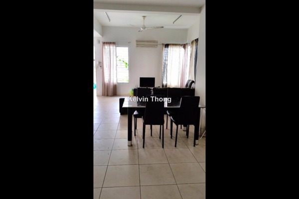 For Rent Terrace at D'Alpinia, Puchong  Semi Furnished 3R/3B 1.8k