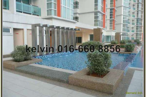 For Rent Condominium at Oasis Ara Damansara, Ara Damansara Freehold Semi Furnished 2R/2B 2.2k