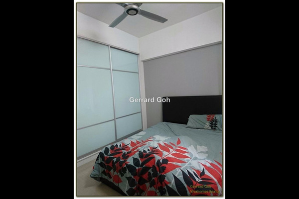 For Sale Condominium at Kepong Central Condominium, Kepong  Fully Furnished 3R/2B 360k