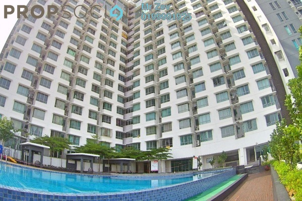 For Sale Serviced Residence at Vega Residensi, Cyberjaya Leasehold Semi Furnished 3R/2B 470k