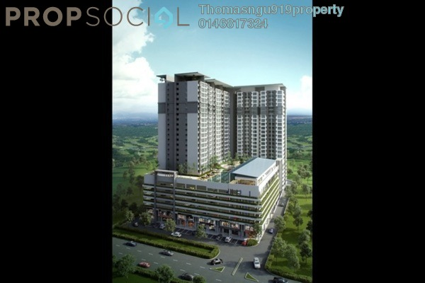 For Sale Condominium at Suria Putra, Bukit Rahman Putra Freehold Semi Furnished 2R/2B 410Ribu