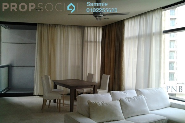 For Rent SoHo/Studio at The Troika, KLCC Freehold Fully Furnished 1R/2B 8k