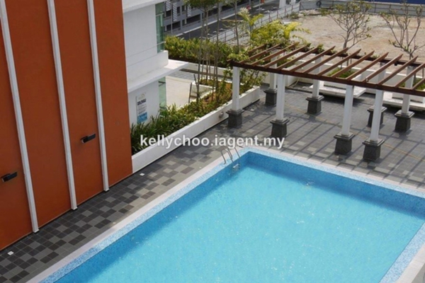 For Sale Serviced Residence at The Arc, Cyberjaya Freehold Semi Furnished 3R/2B 355k
