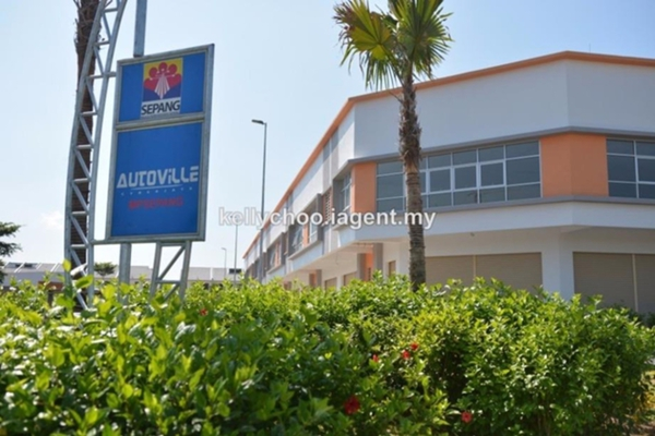 For Sale Shop at AutoVille, Cyberjaya Freehold Unfurnished 0R/0B 2.1m