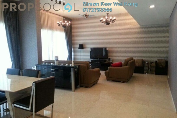 For Rent Condominium at Dua Residency, KLCC Freehold Fully Furnished 3R/4B 6k