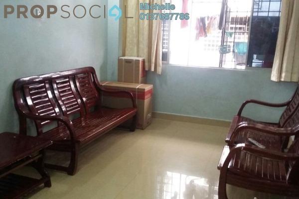 For Sale Apartment at Taman Sri Kuching, Jalan Ipoh Freehold Semi Furnished 3R/2B 210k