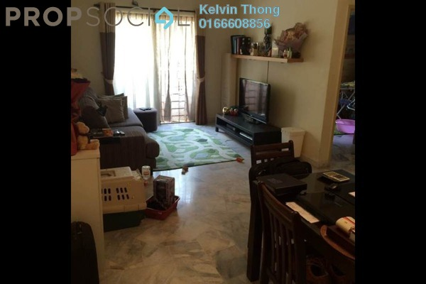 For Sale Apartment at D'Palma Apartment, Pusat Bandar Puchong Freehold Semi Furnished 3R/2B 295k