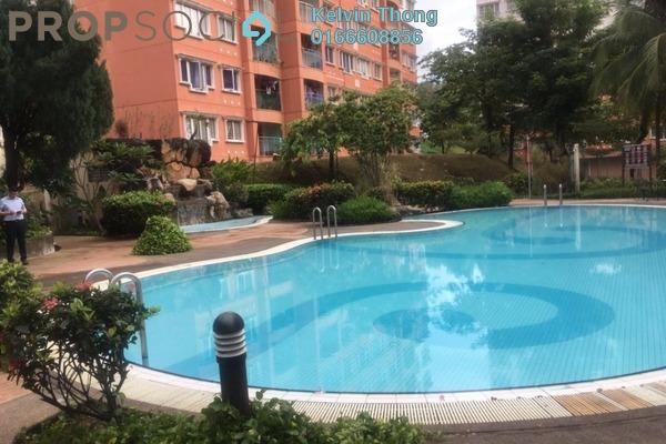 For Sale Apartment at Kenanga Apartment, Bandar Kinrara Freehold Semi Furnished 3R/2B 340k