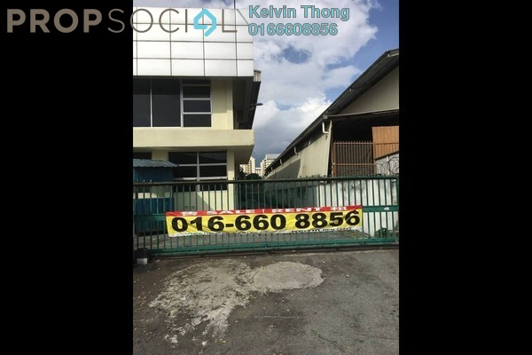 For Rent Factory at Taman Ehsan Industrial Park, Kepong Leasehold Unfurnished 4R/3B 25k