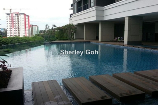 For Rent Condominium at Lido Residency, Bandar Sri Permaisuri Leasehold Semi Furnished 2R/2B 1.6k