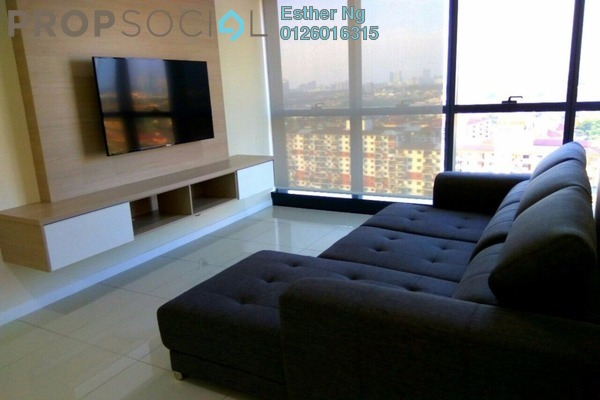 For Rent Serviced Residence at Icon Residenz, Petaling Jaya Leasehold Fully Furnished 2R/1B 2.5k