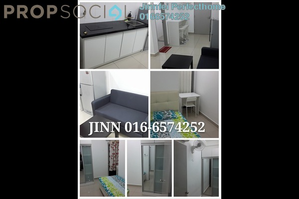 For Rent Condominium at NeoCyber, Cyberjaya Freehold Fully Furnished 2R/1B 1.2k