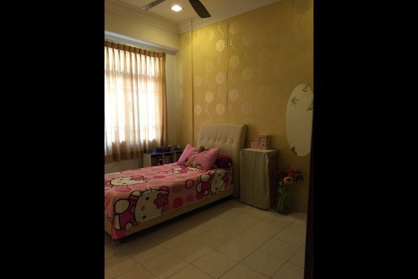For Sale Condominium at Amandari, Segambut Leasehold Semi Furnished 3R/3B 620k