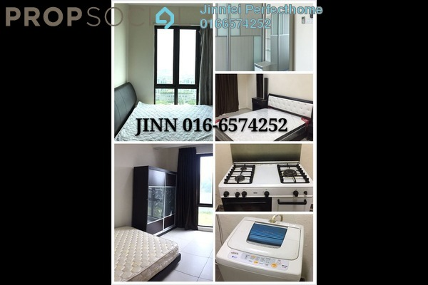 For Rent Condominium at Serin Residency, Cyberjaya Freehold Fully Furnished 3R/3B 2.6k