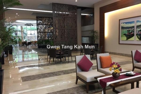 For Sale Duplex at Armanee Terrace II, Damansara Perdana Leasehold Semi Furnished 4R/4B 1.2m