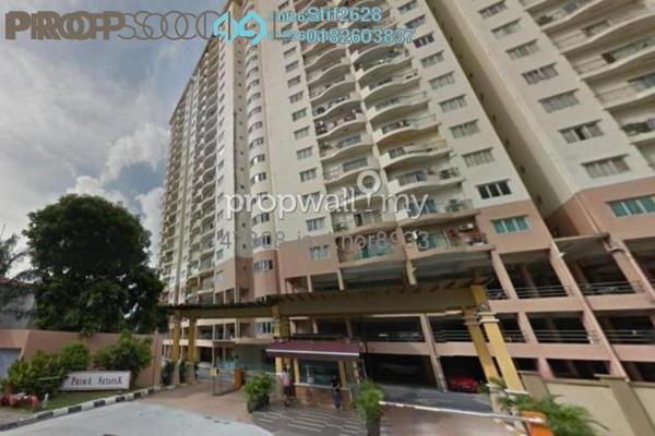 For Sale Condominium at Prima Setapak I, Setapak Leasehold Fully Furnished 3R/2B 460k