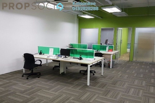 For Sale Office at IOI Boulevard, Bandar Puchong Jaya Freehold Fully Furnished 0R/2B 1.25m