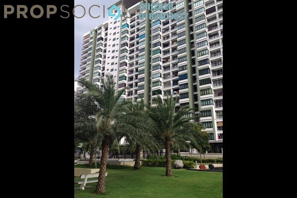 For Rent Condominium at One Damansara, Damansara Damai Leasehold Semi Furnished 3R/2B 1.35k