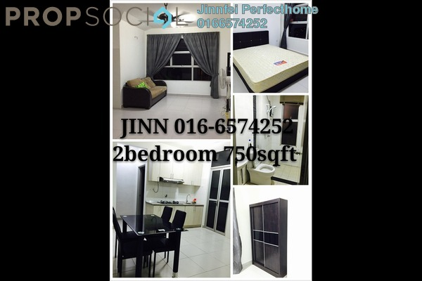 For Rent Condominium at NeoCyber, Cyberjaya Freehold Fully Furnished 2R/2B 1.6k