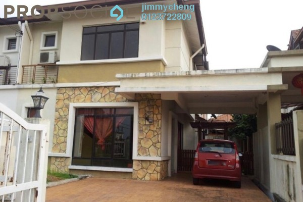For Rent Semi-Detached at Mutiara Indah, Puchong Leasehold Semi Furnished 4R/4B 2k
