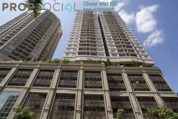 For Rent SoHo/Studio at Windsor Tower, Sri Hartamas Freehold Fully Furnished 1R/1B 1.6千